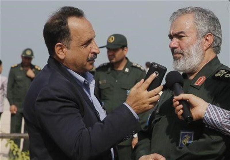 بوشهر| سردار فدوی: دشمنان در خلیج فارس از توان بازدارندگی ایران ملتهب شدهاند