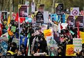 راهپیمایی 13 آبان در سراسر استان البرز آغاز شد