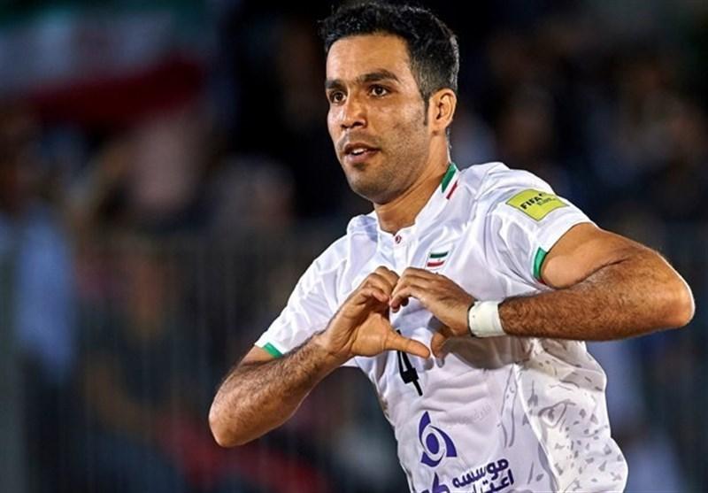 Iran Edges Past Azerbaijan at Persian Beach Soccer Cup