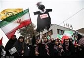 تهران| مراسم راهپیمایی 13 آبان در شهرستانهای استان تهران آغاز شد