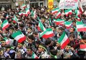 خروش پرشور و انقلابی کردستانیها در روز 13 آبان/تحقق و ثبت حماسهای دیگر+فیلم