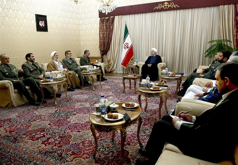 روحانی و ارتش 2