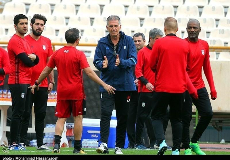 کیروش: در دیدار مقابل الجزایر یا میبریم یا یاد میگیریم/ ما هیچ وقت نمیبازیم!