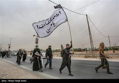 بالصور.. مسیرة أربعین الإمام الحسین (ع)