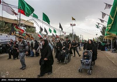 پیاده روی زائران اربعین حسینی