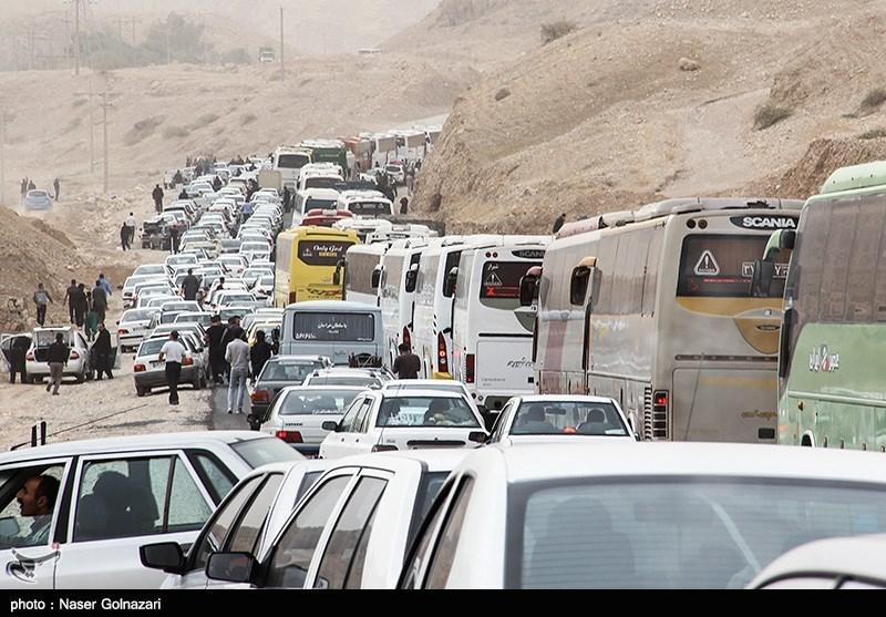 اربعین 98| آخرین وضعیت ترافیکی محورهای مواصلاتی به مرزهای چهارگانه