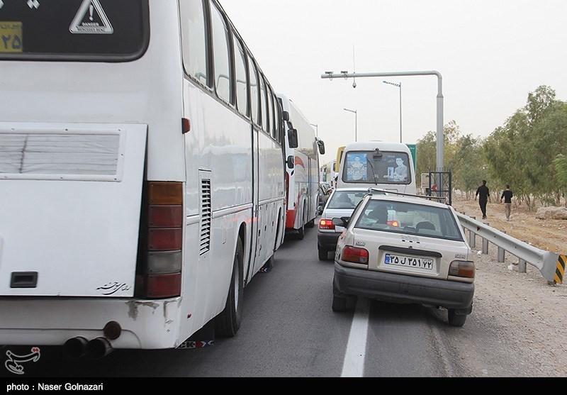 محدودیتهای ترافیکی در شهر مهران به طور کامل برداشته شد