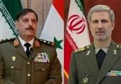 """وزرای دفاع ایران و سوریه درباره """"دیرالزور"""" چه گفتند؟"""