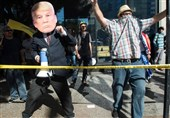 Anti-Trump Protesters Stage March in US Cities (+Photo)