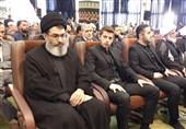 میهمان ویژه مراسم ترحیم پدر سردار سلیمانی + عکس