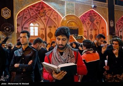 زائرین اربعین حسینی در حرم امام علی(ع) - نجف اشرف