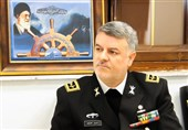 Iranian Navy Commander Meets Foreign Military Delegations in Tehran