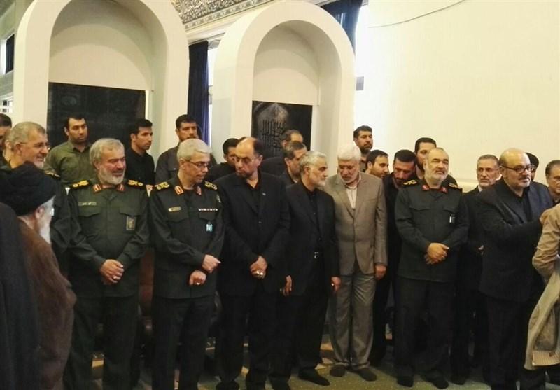 """گردهمایی """"سران مقاومت"""" در تهران حول محور سردار سلیمانی + تصاویر"""