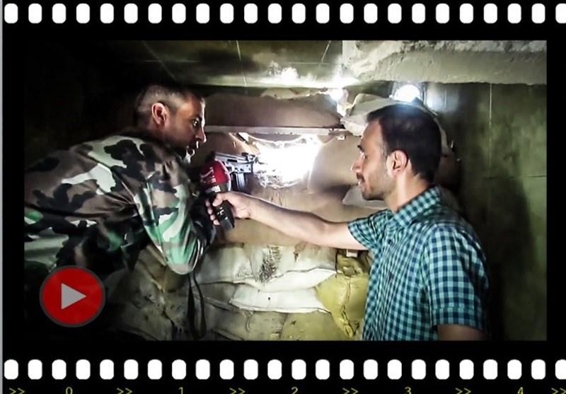 """تسنیم"" تتجول فی أخطر جبهة ملاصقة لدمشق.. الحربُ التی لا مثیل لها فی سوریا +فیدیو وصور"