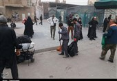 اربعین حسینی موکب خدماتی-نظافتی شهرداری بیرجند به شهر کاظمین عراق اعزام شد