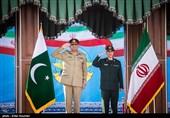 استقبال رسمی سردار باقری از رئیس ستاد ارتش پاکستان + تصاویر