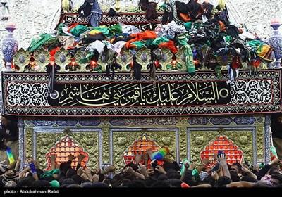 حرم حضرت اباالفضل(ع) در آستانه اربعین حسینی
