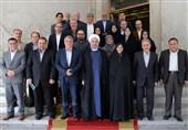 روحانی واعضای شورای شهر