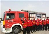 استقرار 150 آتشنشان در 35 نقطه از مسیرهای راهپیمایی جاماندگان اربعین