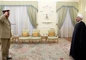 رئیس ستاد ارتش پاکستان با روحانی دیدار کرد