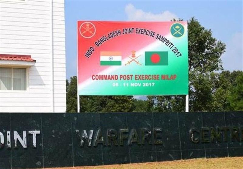 بھارت اور بنگلادیش کے درمیان 13روزہ مشترکہ فوجی مشقوں کا آغاز