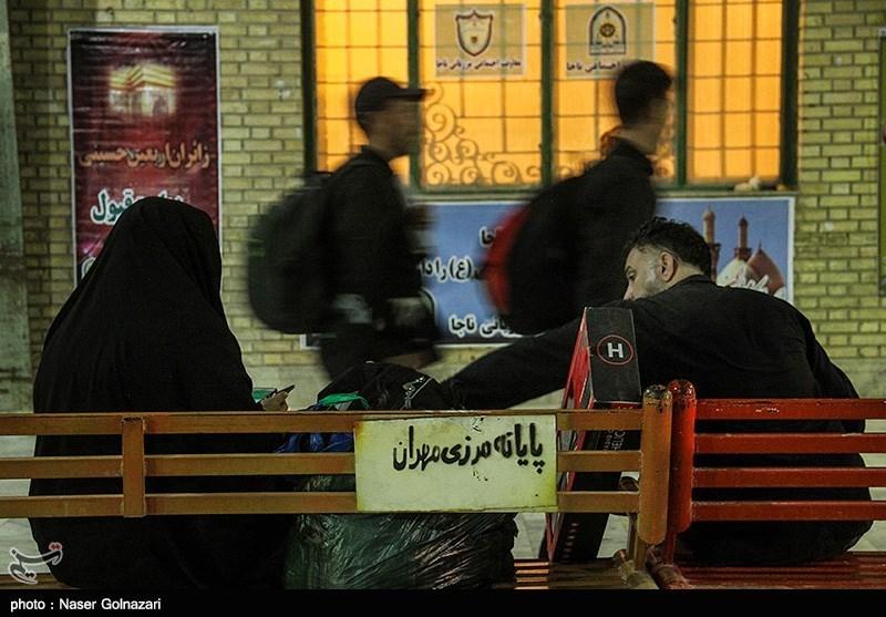 مرز مهران مهمترین مسیر تردد زائران عتبات عالیات است