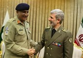 واکنش وزیر دفاع به اقدامات آمریکا در دیدار فرمانده ارتش پاکستان + جزئیات