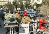 4کارگر از حبس زیرآوار ساختمانی آزاد شدند