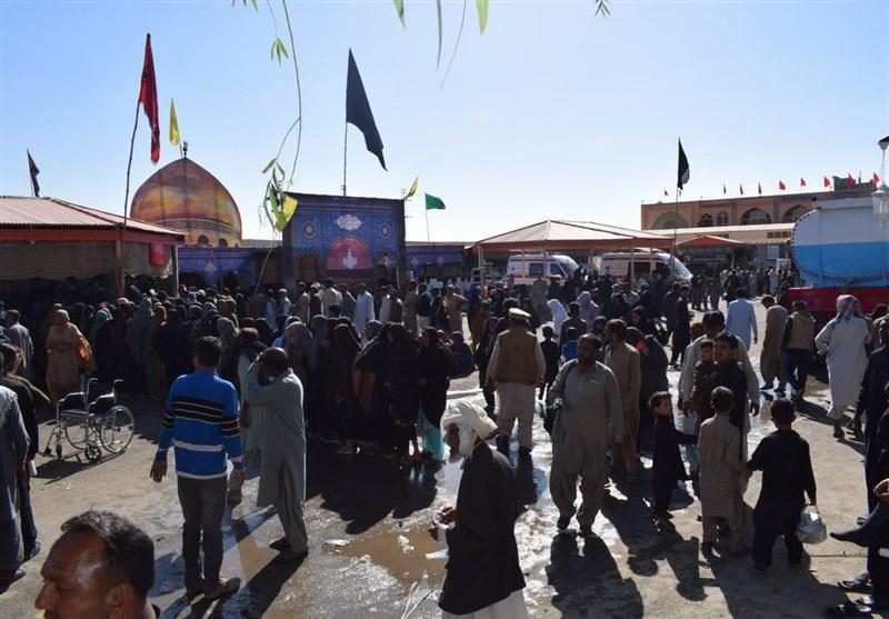 زاہدان کی عوام کے پاکستانی زائرین کی پذیرائی کیلئے انتظامات + ویڈیو اور تصاویر