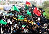حمایت راهپیمایان اربعین از ارتش یمن در مقابل تجاوز رژیم سعودی