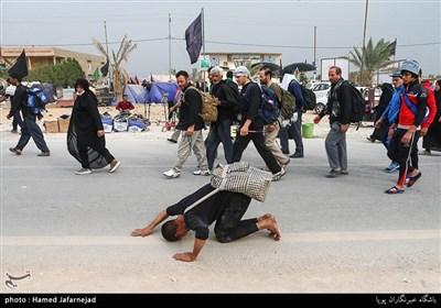 Pilgrims Flocking to Karbala for Arbaeen