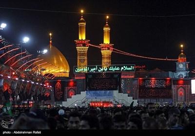 اربعین حسینی کے موقع پر حرم حضرت عباس کے مناظر