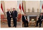 دیدار ظریف با رئیس جمهور تاجیکستان
