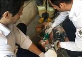 """انتشار گاز """"تینر"""" 2 نقاش را بیهوش کرد + تصاویر"""