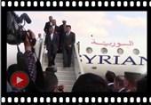"""ولایتی یزور قلعة حلب التاریخیة ومشهد رأس الإمام الحسین """"ع""""+ فیدیو"""