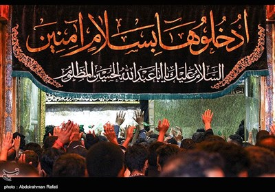 Shrine of Imam Hussein (AS) in Karbala Packed with Pilgrims