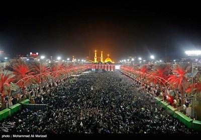 حال و هوای بین الحرمین در ایام اربعین حسینی