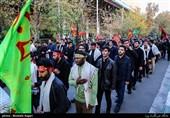 استان گلستان در اربعین حسینی به سوگ نشست