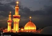 خشتهای طلای گنبد حرم امام حسین(ع) در کرمان ساخته میشود