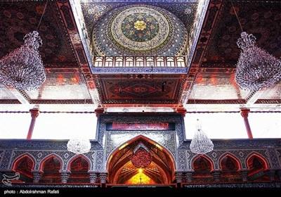 بارگاہ ملکوتی امام حسین علیہ السلام کے مناظر