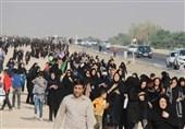 همزمان با اربعین سالار شهیدان؛ مراسم پیادهروی جاماندگان اربعین در آبادان برگزار شد