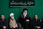 اقامه عزای هیئتهای دانشجویی در محضر امامخامنهای