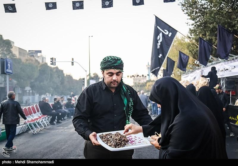 راهپیمایی جاماندگان اربعین حسینی - حرم حضرت عبدالعظیم (ع)