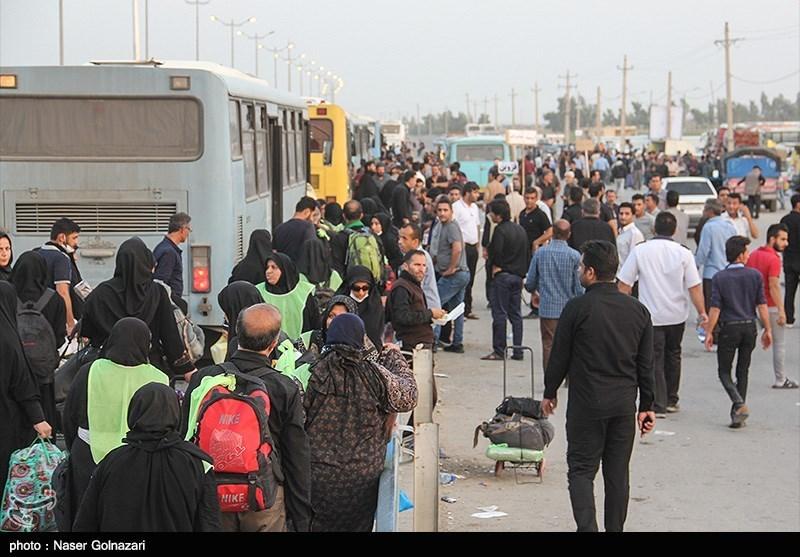 1200000 زائر اربعین حسینی به کشور بازگشتند