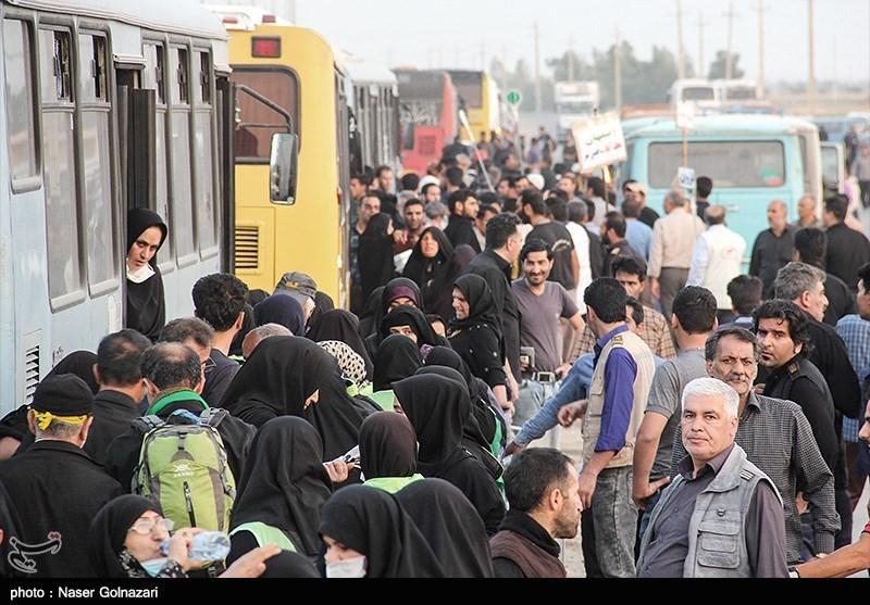 امکان خروج زائران اربعین حسینی با اتوبوسهای ایرانی از مرز شلمچه فراهم شد