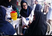 ایستگاهی برای سنجش سلامت مردم در رشت + فیلم