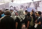 برپایی خیمه فرهنگی با محوریت تحولات جهان اسلام توسط جوانان عراقی در راهپیمایی اربعین