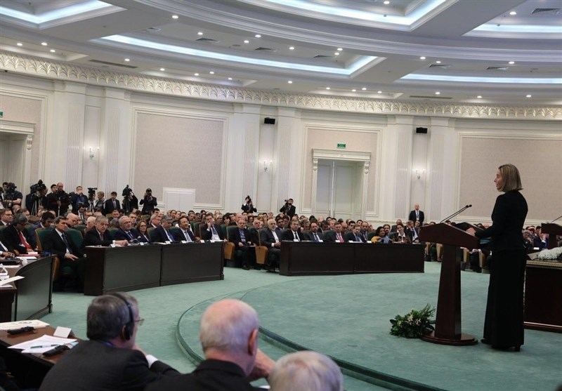Iran's Zarif Attends Int'l Security Conference in Uzbekistan