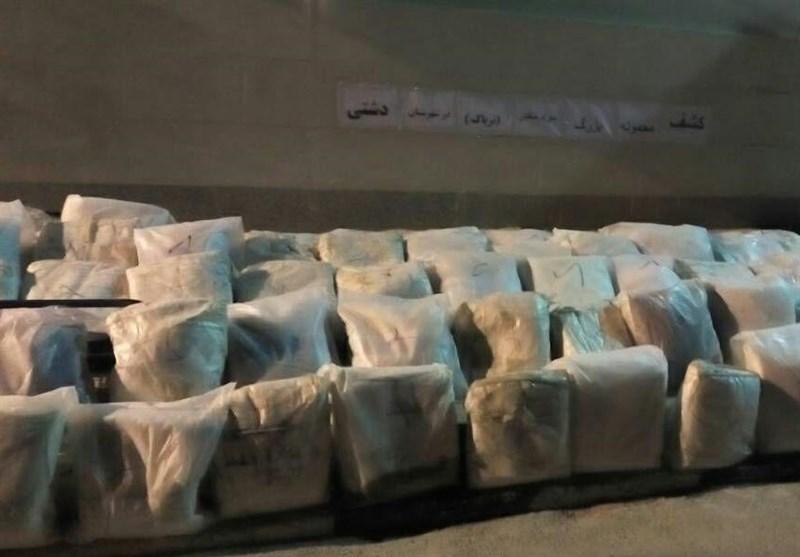 انهدام سه باند بزرگ و بینالمللی مواد مخدر در کرمان