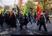 میزبانی موزه انقلاب اسلامی و دفاع مقدس از کاروان جاماندگان حسینی